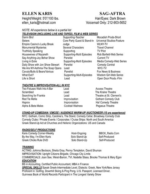 bottle waitress resume